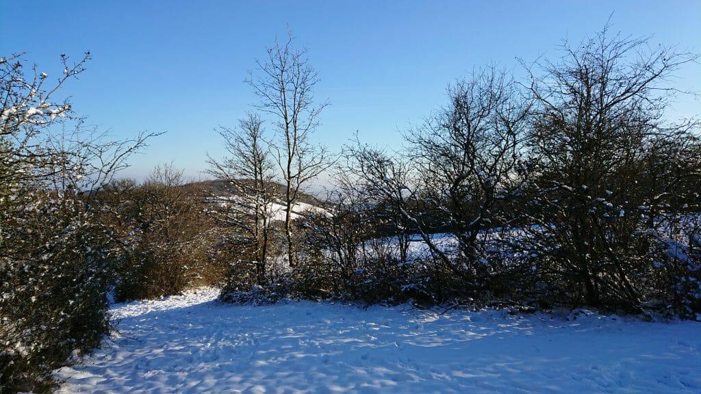 ST-DIDIER, par une belle journée hivernale ...